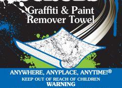 Scrubs reinigingsdoekjes voor graffiti en spuitverf